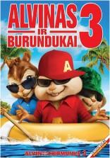 Alvinas ir burundukai 3 DVD