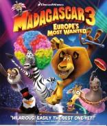 Madagaskaras 3 Blu-ray