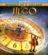 Hugo 3D Blu-ray