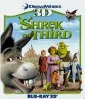 Šrekas 3 3D Blu-ray
