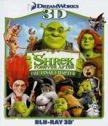 Šrekas. Ilgai ir laimingai 3D Blu-ray