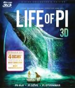 Pi gyvenimas 3D Blu-ray