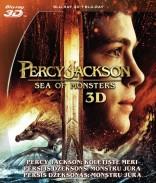 Persis Džeksonas: Monstrų jūra 3D Blu-ray
