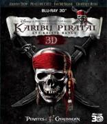 Karibų piratai: Ant keistų bangų 3D Blu-ray