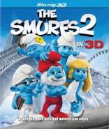 Smurfai 2 3D Blu-ray
