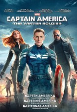 Kapitonas Amerika: Žiemos karys DVD