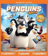 Madagaskaro pingvinai Blu-ray + 3D