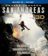 San Andreas Blu-ray + 3D