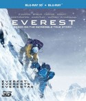 Everestas Blu-ray + 3D