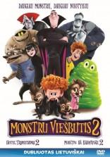 Monstrų viešbutis 2 DVD