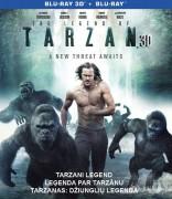 Tarzanas: džiunglių legenda Blu-ray + 3D