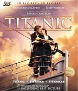 Titanikas 3D Blu-ray