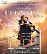 Titanikas Blu-ray