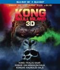 Kongas: Kaukolės sala Blu-ray + 3D