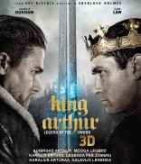 Karalius Artūras. Kalavijo legenda Blu-ray +3D