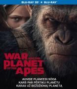 Karas už beždžionių planetą Blu-ray + 3D