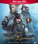 Karibų piratai. Salazaro kerštas Blu-ray + 3D