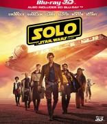 Solo. Žvaigždžių karų istorija Blu-ray + 3D