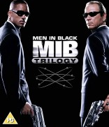 Vyrai juodais drabužiais (Trilogija) Blu-ray