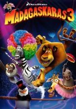 Madagaskaras 3 DVD