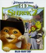 Šrekas 2 3D Blu-ray