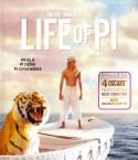 Pi gyvenimas Blu-ray