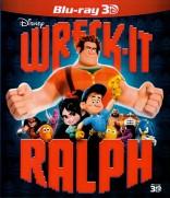Ralfas griovėjas 3D Blu-ray