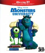 Monstrų universitetas 3D Blu-ray