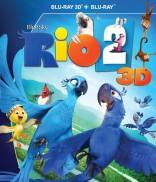 Rio 2 Blu-ray + 3D