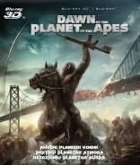 Beždžionių planetos aušra Blu-ray + 3D