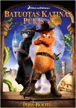Batuotas katinas Pūkis DVD