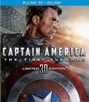 Kapitonas Amerika: pirmasis keršytojas Blu-ray + 3D
