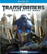 Transformeriai: tamsioji Menulio pusė 3D Blu-ray