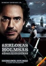 Šerlokas Holmsas. Šešėlių žaidimas DVD