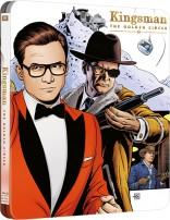 Kingsman. Aukso ratas Blu-ray SteelBook