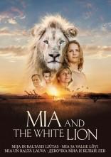 Mija ir baltasis liūtas DVD