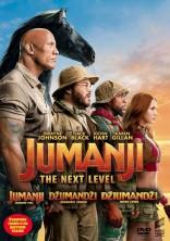Džiumandži: kitas lygis DVD
